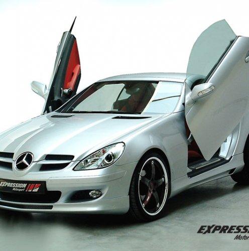 Аэродинамические обвесы   Mercedes Benz   SLK-класс (R171)