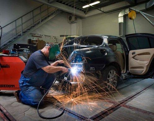 Кузовний ремонт, фарбування автомобіля в Самарі