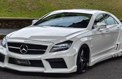 Тюнинг дорогих машин: автомобиль Mercedes-Benz CLS класса