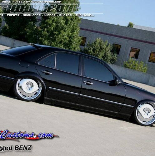 Тюнінг Mercedes-Benz W210 (E-class), 10 фото