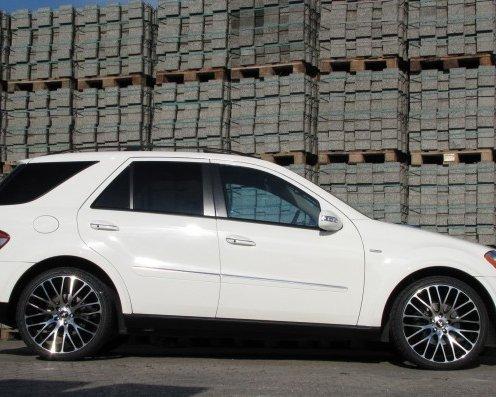 Тюнинг Mercedes ML 500 от «Senner» - Тюнинг Блог