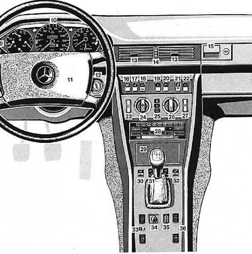Устройство, обслуживание, ремонт Мерседес W124 // 1985-1995 гг