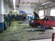 Ремонтна зона автомобілів