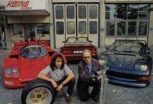 Віллі Кеніг (на фото - праворуч) і його чудові твори